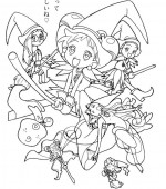 coloriage magical doremi 004